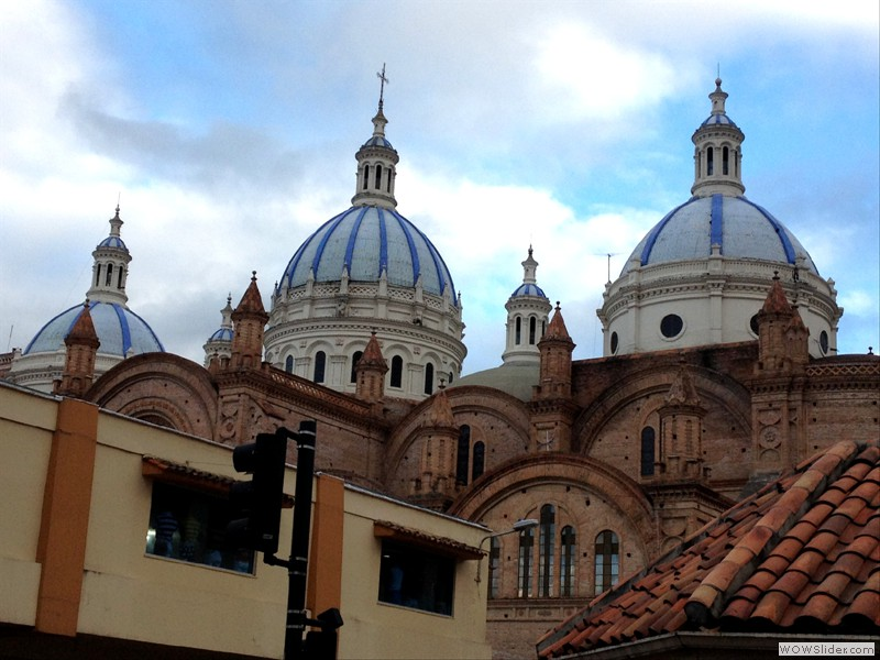 Cuenca New Church Domes